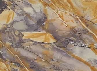 Détaille technique: BRECCIA ETRUSCA, marbre naturel brillant italien