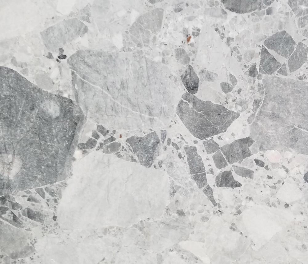 Détaille technique: Babylon Grey, marbre naturel poli macédoinen