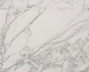 Détaille technique: CALACATTA BELGIA, marbre naturel poli italien