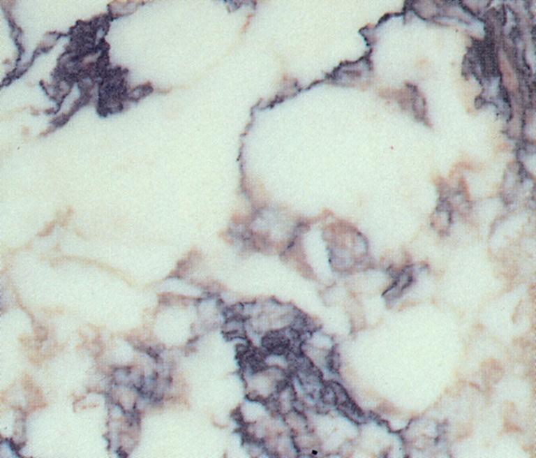 Détaille technique: CALACATTA VIOLA, marbre naturel brillant italien