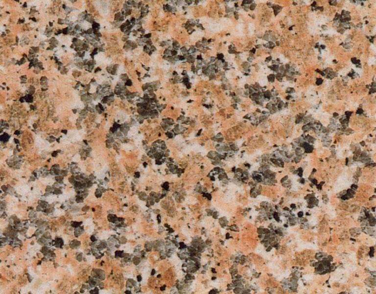 Détaille technique: ROSA FERULA, granit naturel brillant italien