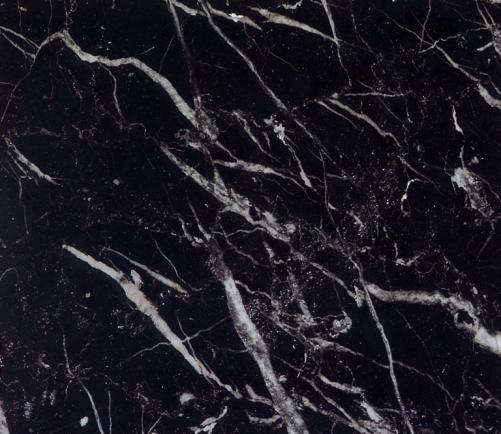 Détaille technique: NEGRO FLORIDO, marbre naturel brillant espagnol
