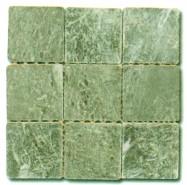 Détaille technique: VERDE VANEEKA, marbre naturel tombé turc