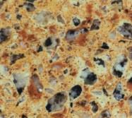 Détaille technique: AMARILLO PALMIRA, quartzite reconstitué artificiellement brillant espagnol