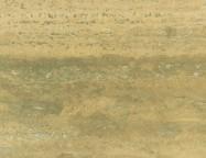 Détaille technique: TRAVERTINO ROMANO STRIATO, travertin naturel poli italien