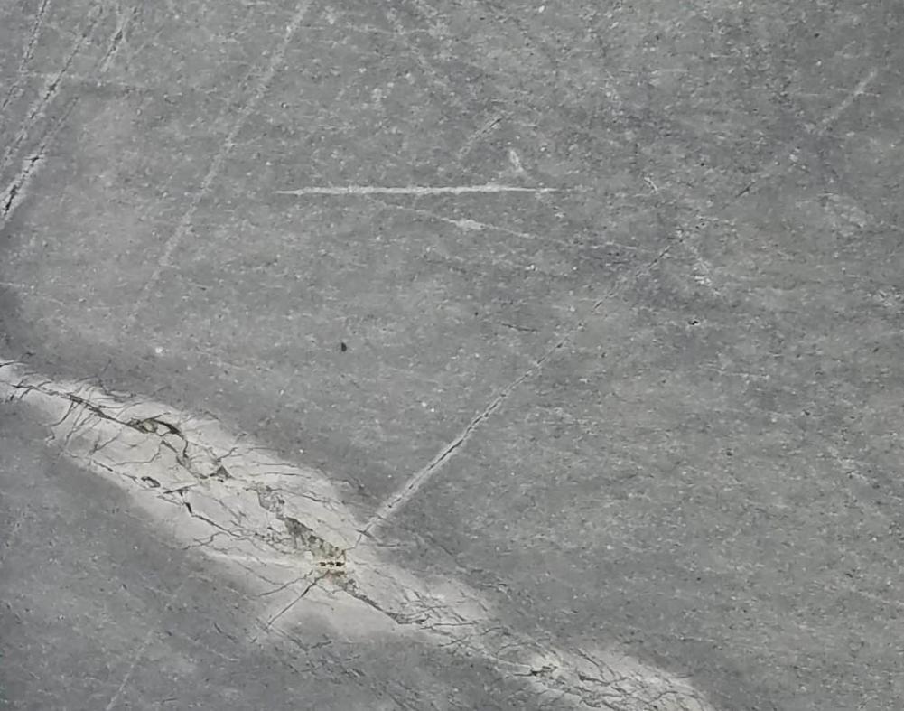 Détaille technique: ATLANTIC LAVA STONE, basalte naturel brillant mongol