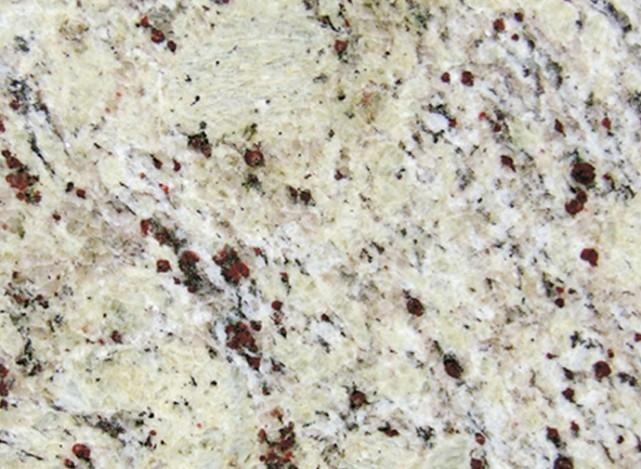 Détaille technique: CRYSTAL CREAM, granit naturel brillant brésilien