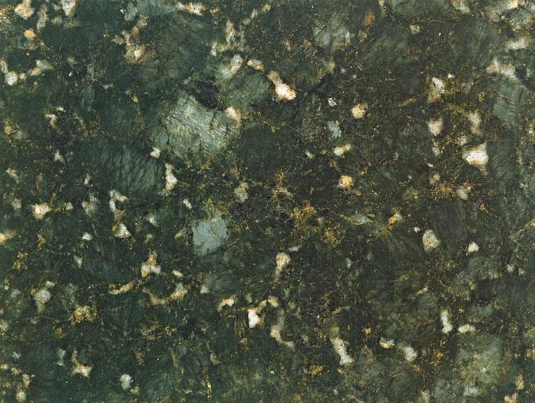 Détaille technique: BUTTERFLY GREEN, granit naturel poli brésilien