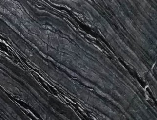 Détaille technique: Zebra Black, marbre naturel brillant chinois