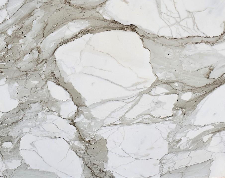 Détaille technique: CALACATTA MACCHIA ANTICA, marbre naturel brillant italien