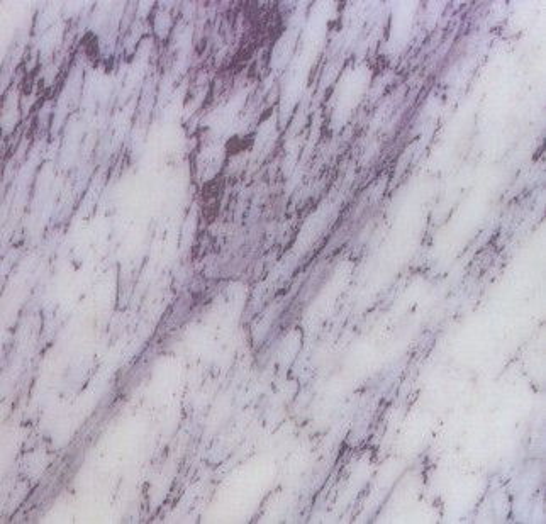 Détaille technique: LILAC, marbre naturel brillant turc