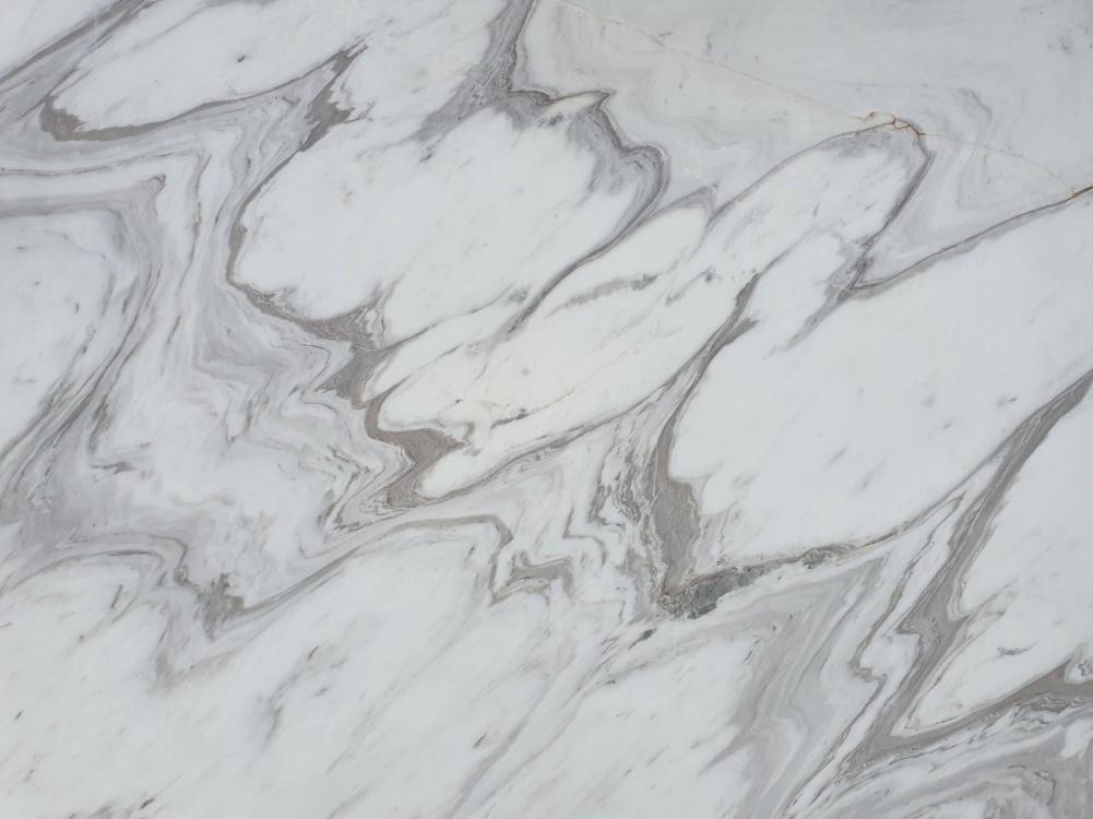 Détaille technique: CALACATTA WAVE, marbre naturel poli grec