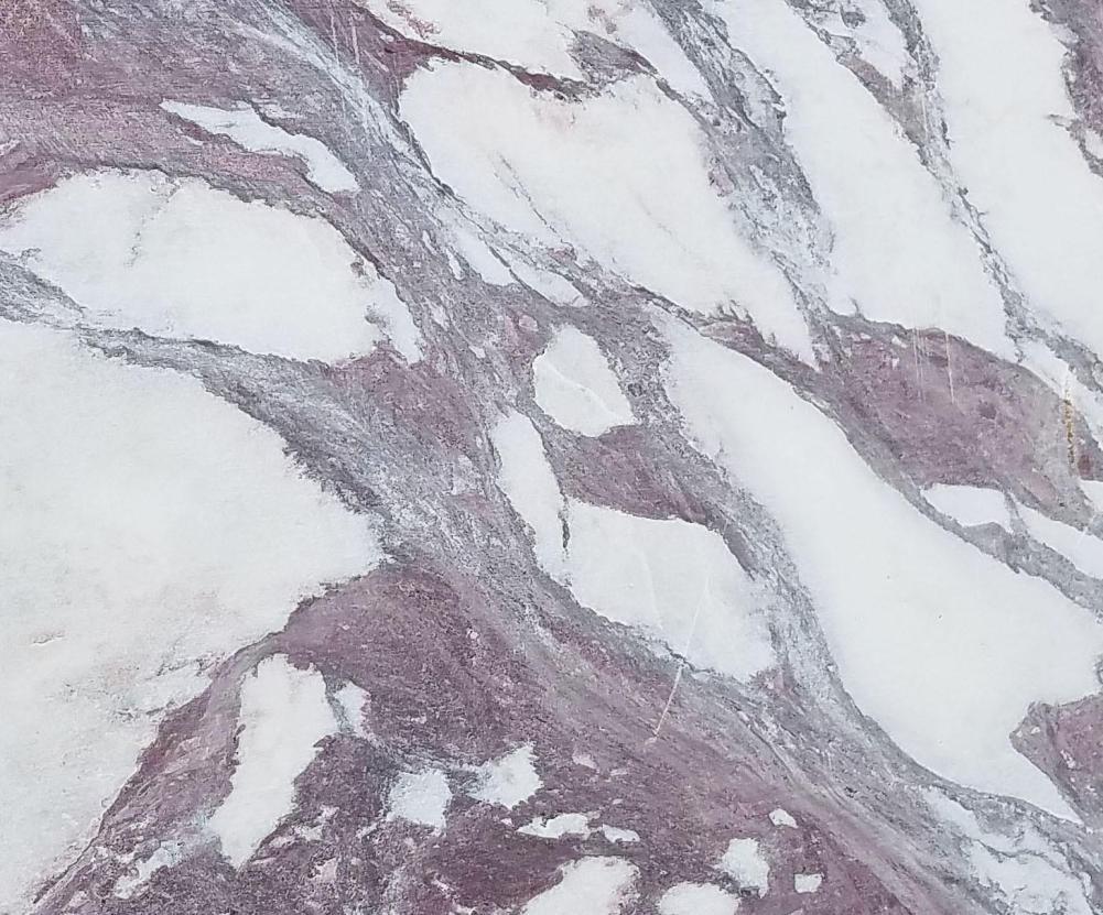 Détaille technique: CALACATTA VAGLI ROSATO, marbre naturel scié italien