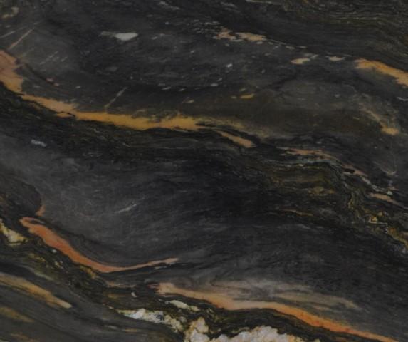 Détaille technique: BLUE SPIRIT, quartzite naturel brillant brésilien