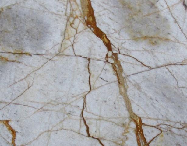 Détaille technique: CRISTALLO IMPERIALE, quartzite naturel brillant brésilien