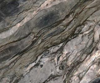 Détaille technique: FUSION MISTIC, quartzite naturel brillant brésilien