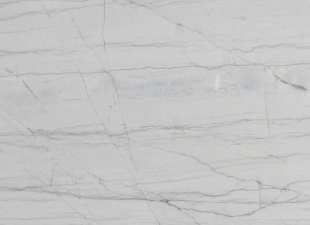 Détaille technique: MACAUBAS WHITE, quartzite naturel brillant brésilien