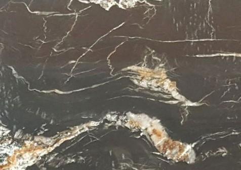 Détaille technique: belvedere, quartzite naturel poli de la Namibie