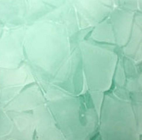 Détaille technique: CORAL BLUE, verre recyclé brillant chinois